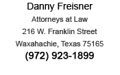 DWI attorney contact information